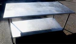 Image Food Grade Stainless Steel Work Table 1434903
