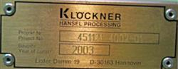 Image KLOCKNER / HANSEL Filler 1436033