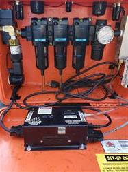 Image AIR SYSTEMS INTERNATIONAL TA-3EA Twin Air Compressor and BB30-CO Breather Both Grade D Air CO Monitor 1436087