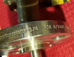Image STRAHMAN SV-700 3/4 X 1/2 600 Lb. Sampling Valve - New Surplus 1436476