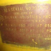 Image SILVAN INDUSTRIES Low-Pressure Air Reservoir Tank 1438585