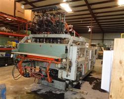 Image 4 Head UNILOY 350 R3 Reciprocating Screw Blow Molding Machine 1438688