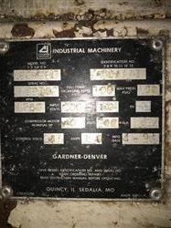 Image 40 HP GARDNER DENVER ECHOHG Air Compressor 1456966