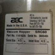 Image AEC SRC 60 Vacuum Receiver/Hopper - Stainless Steel 1438979
