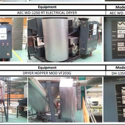 Image AEC WD-1250 RT Material Dryer and Hopper 1439042