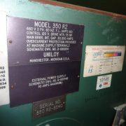 Image 4 Head UNILOY 350 R2 Reciprocating Screw Blow Molding Machine - Complete Line 1439064