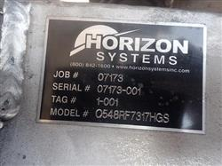 Image 42 Sq Ft HORIZON SYSTEMS 0548RF Dust Collector 1439160