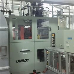 Image 4 Head UNILOY R2000 Reciprocating Screw Blow Molding Machine 1439228