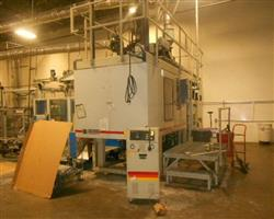 Image CINCINNATI MILACRON E-90-Single Single 5 Pound Accumulator Head Blow Molding Machine 1439246