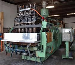 Image UNILOY 350 R4 5 Head Reciprocating Screw Blow Molding Machine 1439261