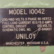 Image UNILOY 350 R4 5 Head Reciprocating Screw Blow Molding Machine 1439263