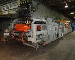 Image UNILOY 350 R4 5 Head Reciprocating Screw Blow Molding Machine 1439264