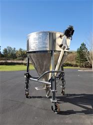 Image 80 Cu. Ft. Dry Hopper with Screw Conveyor - Stainless Steel 1439403