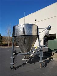 Image 80 Cu. Ft. Dry Hopper with Screw Conveyor - Stainless Steel 1439404