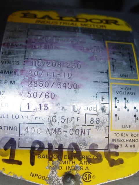 Image LECO CM-15 Cut Off Machine  Single Phase 1440125