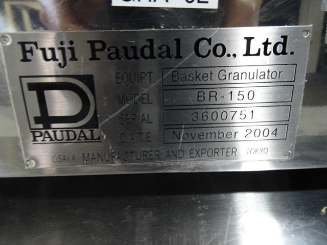 Image FUJI PAUDAL BR-150 Basket Granulator 1440532
