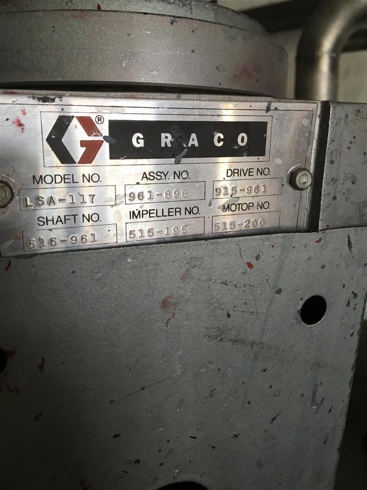 Image Agitated Stainless Steel Tanks with GRACO Agitators 1440787