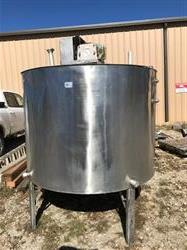 Image 600 Gallon Insulated Mix Tank - 316 Stainless Steel 1440809