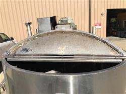 Image 600 Gallon Insulated Mix Tank - 316 Stainless Steel 1440817
