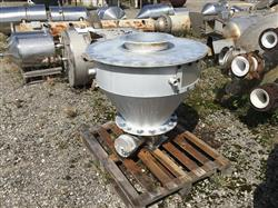 Image 60 Gallon Cone Bottom Hopper - Aluminum 1441325