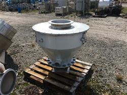 Image 60 Gallon Cone Bottom Hopper - Aluminum 1441326