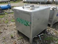 Image 310 Gallon Liquid Tote - Stainless Steel 1490266