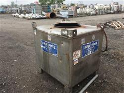Image 310 Gallon Liquid Tote - Stainless Steel 1490271