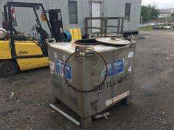 Image 310 Gallon Liquid Tote - Stainless Steel 1490272