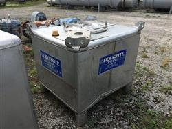 Image 310 Gallon Liquid Tote - Stainless Steel 1490262