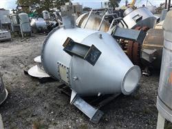 Image 350 Gallon Cone Bottom Hopper - Aluminum 1441340