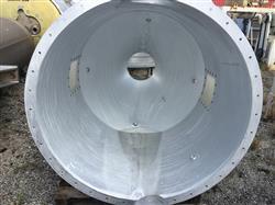 Image 350 Gallon Cone Bottom Hopper - Aluminum 1441342