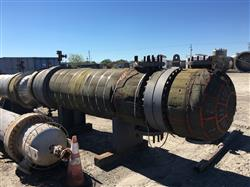 Image 1,450 Sq. Ft. AT&F ADVANCED METALS Shell and Tube Heat Exchanger 1441606