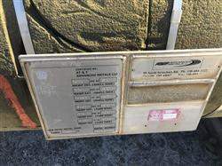 Image 1,450 Sq. Ft. AT&F ADVANCED METALS Shell and Tube Heat Exchanger 1441607