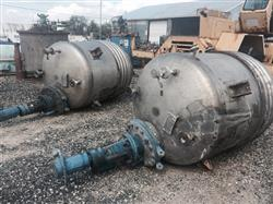 Image 500 Gallon NOLTE Reactor - Stainless Steel 1441690