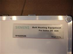 Image SIEMENS Bolt Heating Equipment For Holes 25mm 1441741