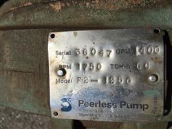 Image PEERLESS F2-1250 Centrifugal Pump 1441821