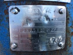 Image CARVER PUMP CO. Type 2 X 1.5 X 10GH Pump 1441838