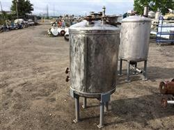 Image 100 Gallon PERRY PRODUCTS Vertical Pressure Tank - Stainless Steel 1441881