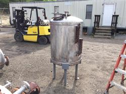 Image 100 Gallon PERRY PRODUCTS Vertical Pressure Tank - Stainless Steel 1441883