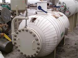 Image 400 Gallon Horizontal STANDARD BOILER & TANK Heater Tank - 316L Stainless Steel 1441963