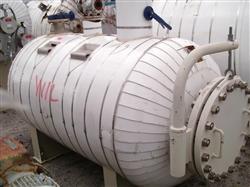 Image 400 Gallon Horizontal STANDARD BOILER & TANK Heater Tank - 316L Stainless Steel 1441974