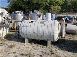 Image 400 Gallon STANDARD BOILER & TANK Horizontal Heater Tank - 316L Stainless Steel 1567074