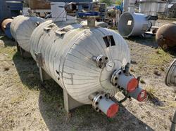 Image 400 Gallon STANDARD BOILER & TANK Horizontal Heater Tank - 316L Stainless Steel 1567076