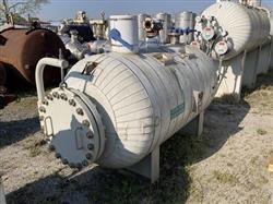 Image 400 Gallon STANDARD BOILER & TANK Horizontal Heater Tank - 316L Stainless Steel 1567077