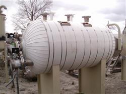 Image 400 Gallon STANDARD BOILER & TANK Horizontal Heater Tank - 316L Stainless Steel 1441966