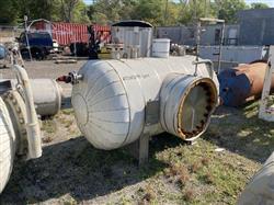 Image 400 Gallon STANDARD BOILER & TANK Horizontal Heater Tank - 316L Stainless Steel 1567069