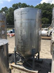Image 500 Gallon Vertical Tank - 304 Stainless Steel 1441977