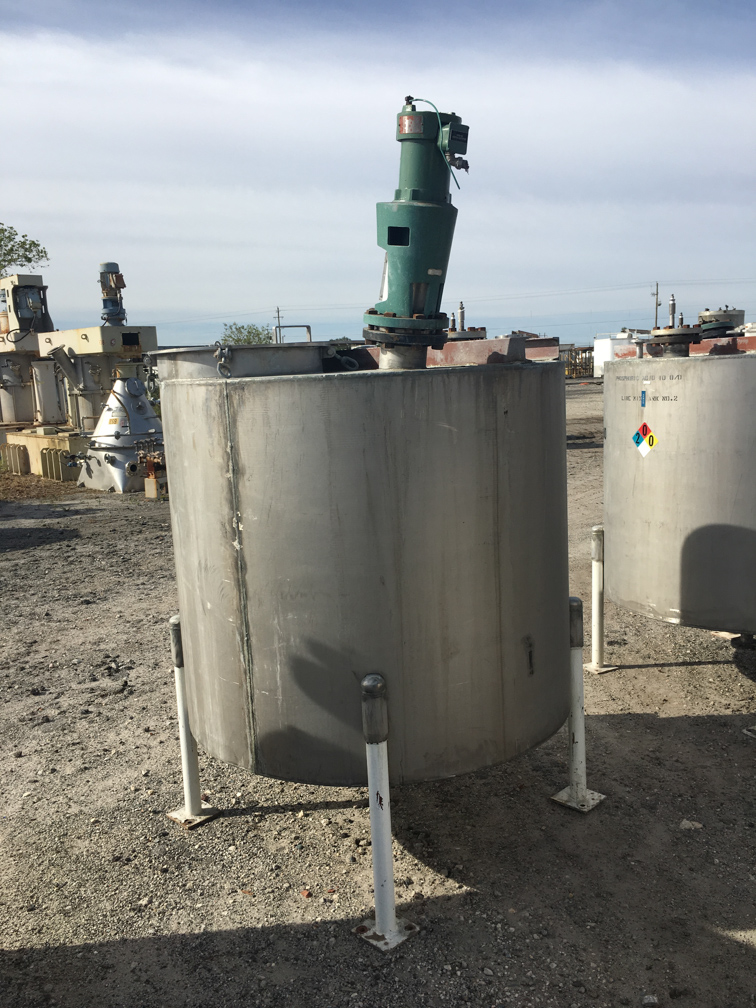 Image 500 Gallon Vertical Mix Tank - Stainless Steel 1441983
