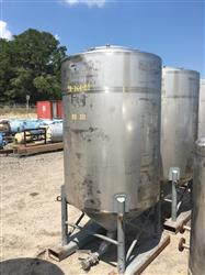 Image 500 Gallon WALKER Vertical Tank - 304 Stainless Steel 1442000