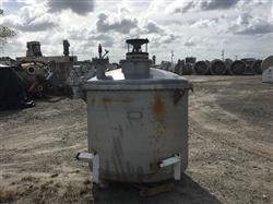 Image 560 Gallon PIERSOL PINE MFG. Vertical Mix Tank - 304 Stainless Steel 1442033